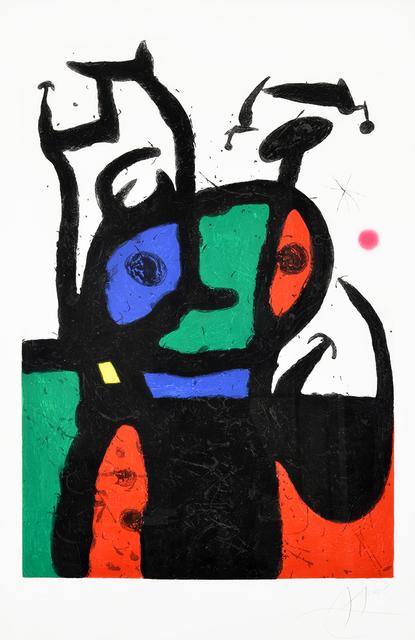 Joan Miró, 'Le Matador (The Matador)', 1969, Masterworks Fine Art