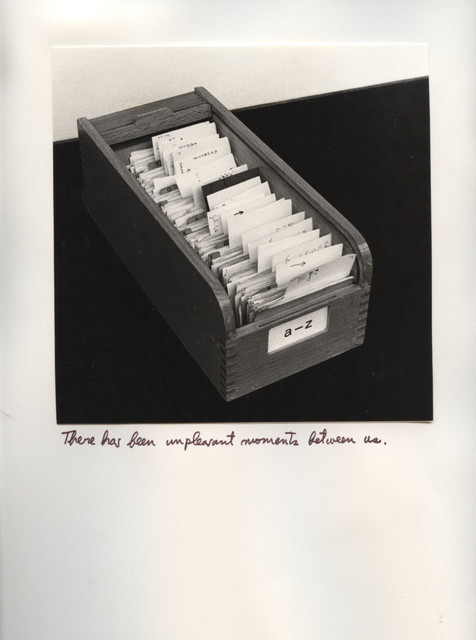 , 'In Alphabetical Order,' 1978, WALDEN