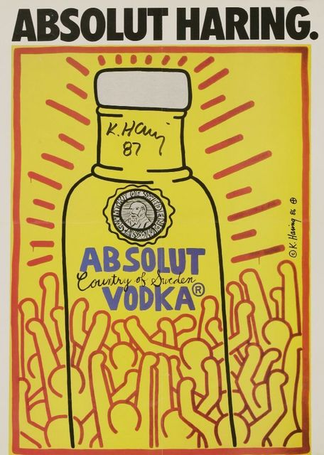 Keith Haring | Absolut Vodka (1986) | Artsy