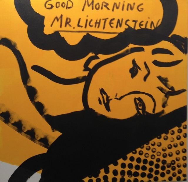 , 'Good Morning Mr. Lichtenstein	,' 2015, Zemack Contemporary Art