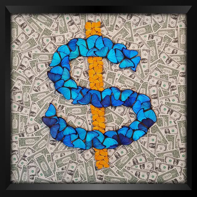 , '$ ,' 2018, Eden Fine Art