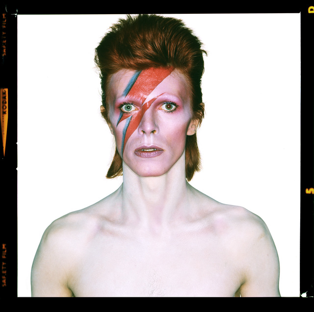 , 'David Bowie. Aladdin Sane (Open Eyes),' 1973, CAMERA WORK
