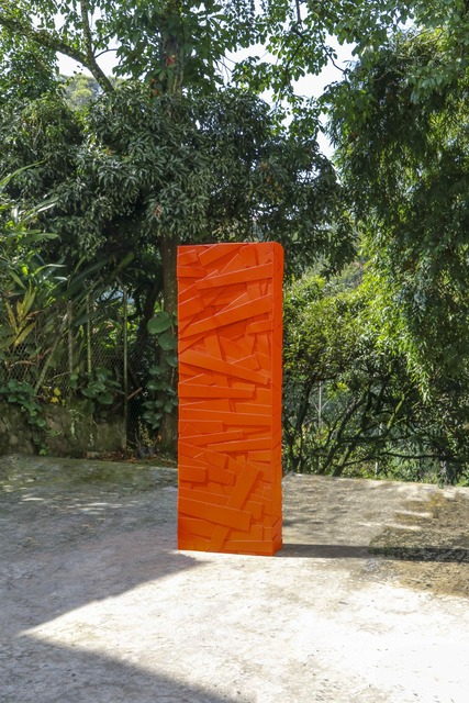 , 'Columna Tangarine,' 2018, Artscape Lab