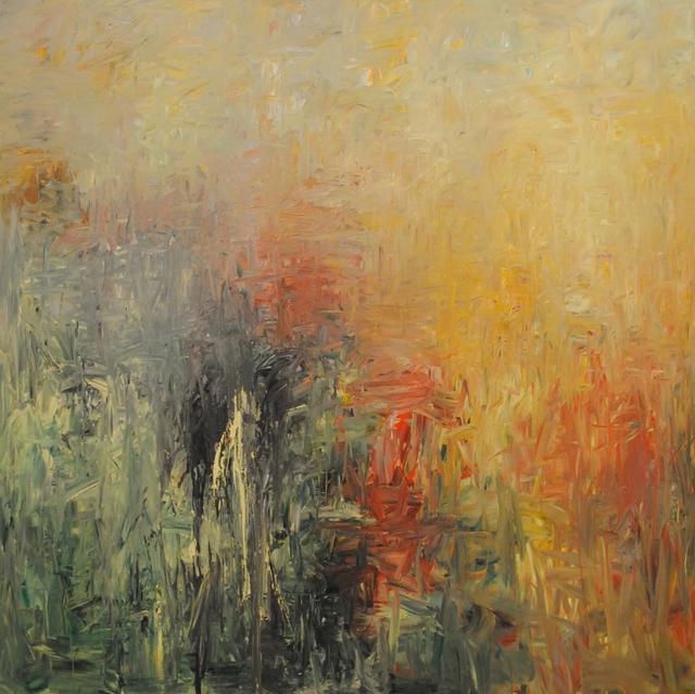 MD Tokon, 'Rain in the Autumn', 2015, Painting, Acrylic on Canvas, Isabella Garrucho Fine Art