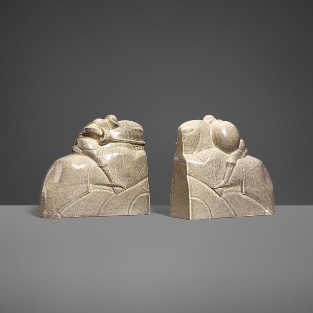 Marcel Guillard, 'Bookends, Pair', c. 1920, Wright