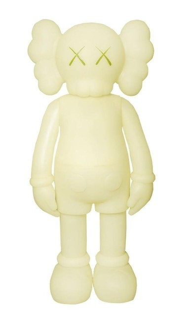 KAWS, 'Companion (5 Years Later) Glow-in-the-Dark Green', 2004, Dope! Gallery