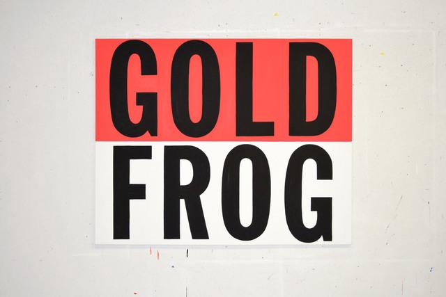 , 'Gold Frog,' 2014, InLiquid