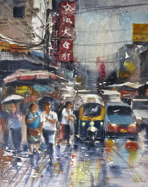 Attasit Pokpong, 'Walking in the Rain', 2006, MLA Gallery