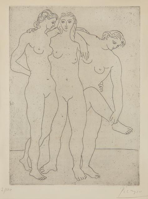 Pablo Picasso, 'Les trois baigneuses III (Three Bathers III)', 1923, Phillips