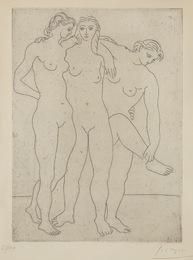 Pablo Picasso, 'Les trois baigneuses III (Three Bathers III),' 1923, Phillips: Evening and Day Editions (October 2016)