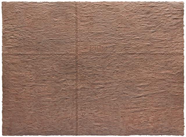 , 'PETRO PLOTS/ Pico/ Sepulveda,' 2001, Joshua Tree Art Gallery