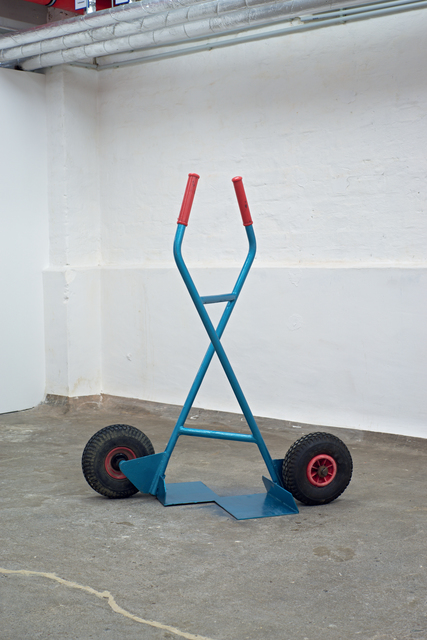 Sofia Hultén, 'Indecisive Angles XV', 2015, Sculpture, Found metal trolley, KvS Auctions