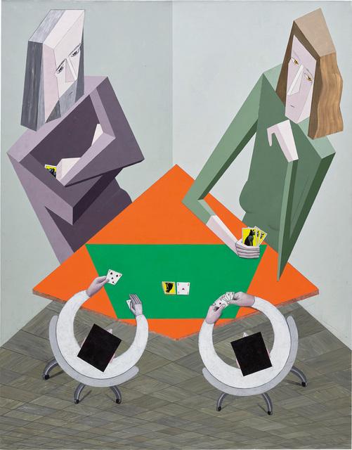 Mernet Larsen, 'Cardplayers', 2013, Phillips