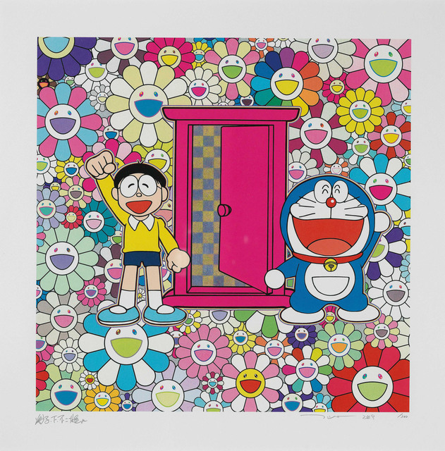 Takashi Murakami, 'We Came to the Field of Flowers through Anywhere Door', 2019, Little Art Piece