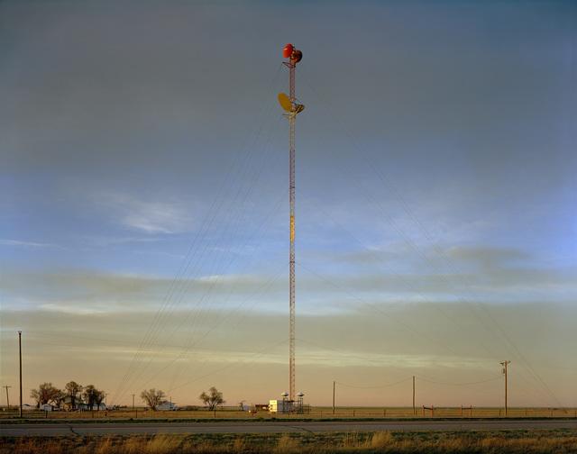 , 'Radio Tower on the Llano Estacado near Umbarger, Texas; March 11, 2005,' , photo-eye Gallery