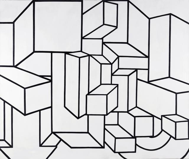 , 'B/W IX,' 1968, Al Held Foundation