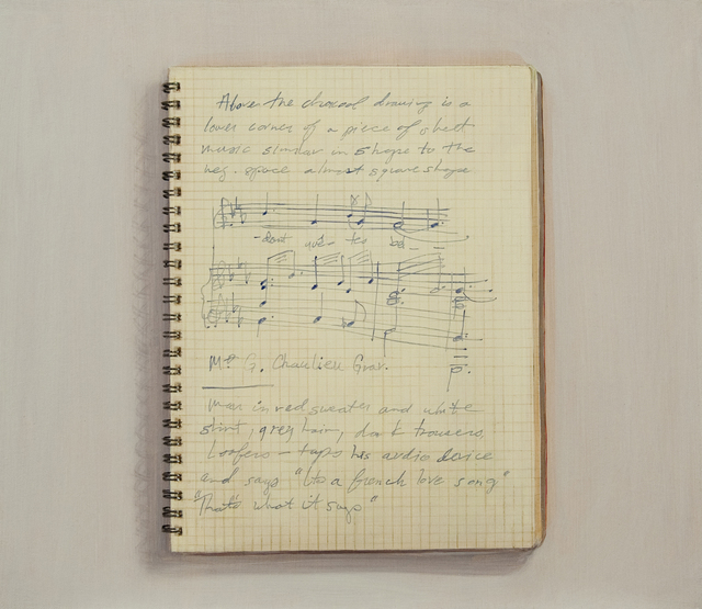 , 'Picasso Notebook (1),' 2013, Jane Lombard Gallery