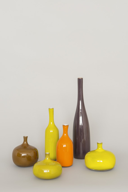 , 'Collection of 6 ceramics,' ca. 1960, Galerie Pascal Cuisinier