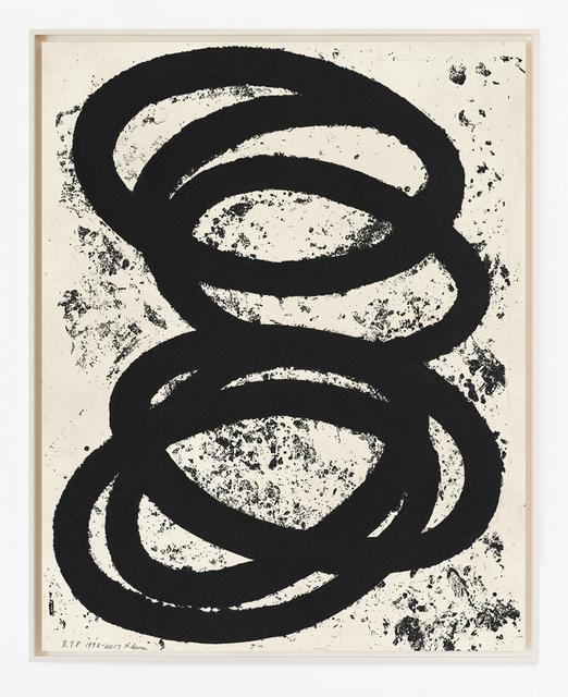 Richard Serra, 'Finally Finished', 2017, Krakow Witkin Gallery