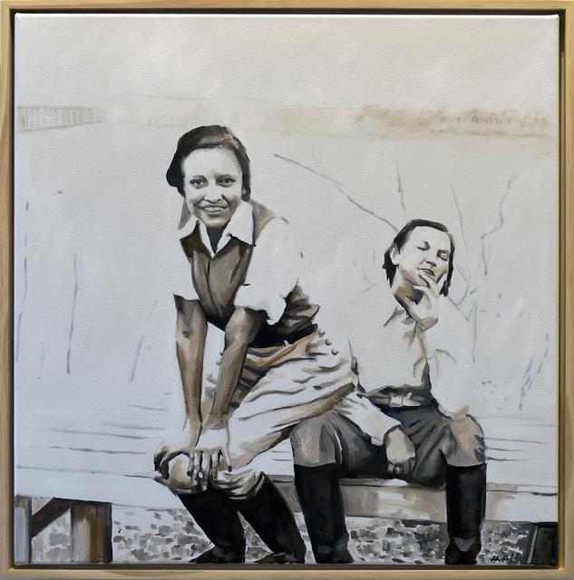 , 'Ladies of Lake Worth: Seated On Lap,' 2016, Jen Mauldin Gallery