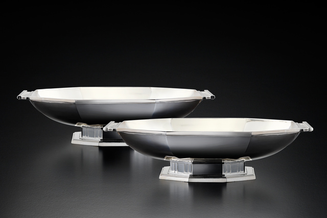 , 'Pair of Silver Art Deco Centerpieces,' , Fine Art Silver