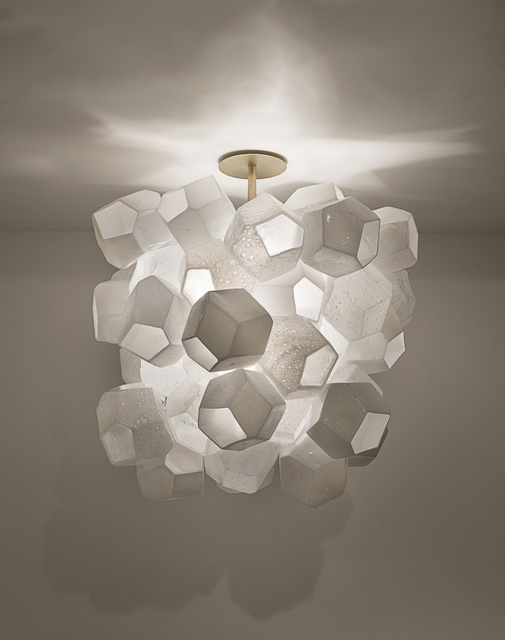, 'Illuminated Faceted Cluster sculpture,' 2015, R & Company