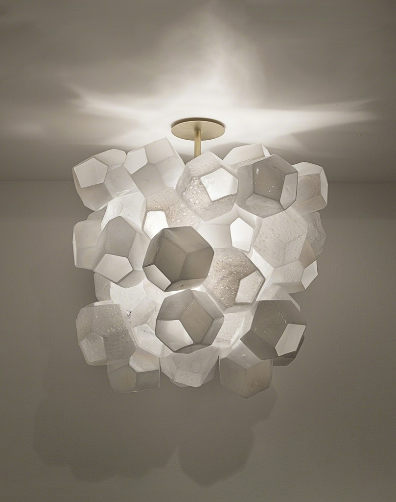 Zimmerman lighting Jeff Zimmerman Jeff Zimmermans Sculptural Lamps Gleam As Lighting Thrives In Art And Design Spheres Artsy Artsy Jeff Zimmermans Sculptural Lamps Gleam As Lighting Thrives In Art