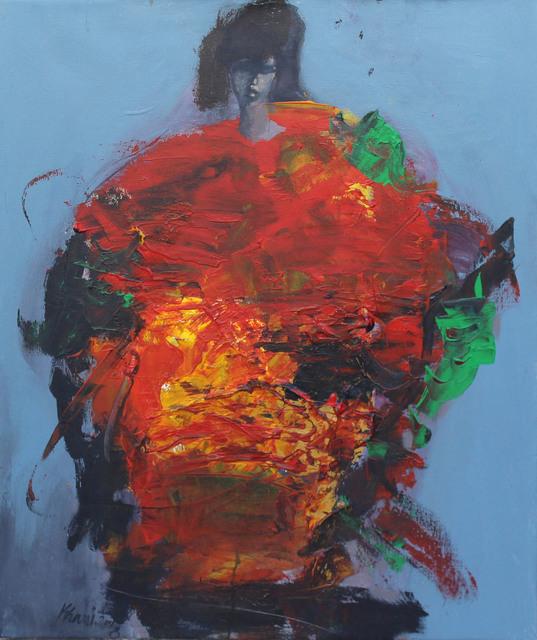 Khalid El-Khani, 'Red', 2018, Orient Gallery