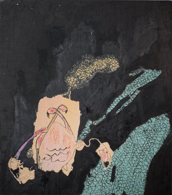 , 'Flamingos at Night,' 2015, Deborah Colton Gallery