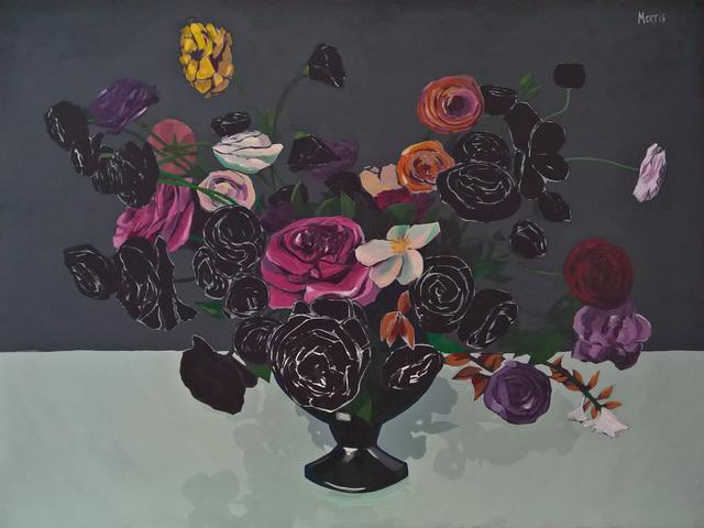 Kevin Morris, 'Flowers in Black ', 2018, Cerbera Gallery
