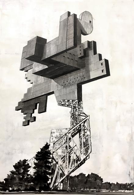 Nestor Arenas, 'Spomeniks-Pok No. 14', 2018, Conde Contemporary