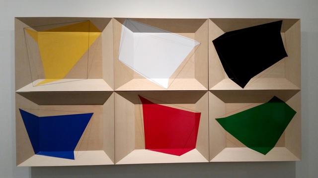 , 'Geometric Spill Series 1-6,' 2015, Cheryl Hazan Gallery
