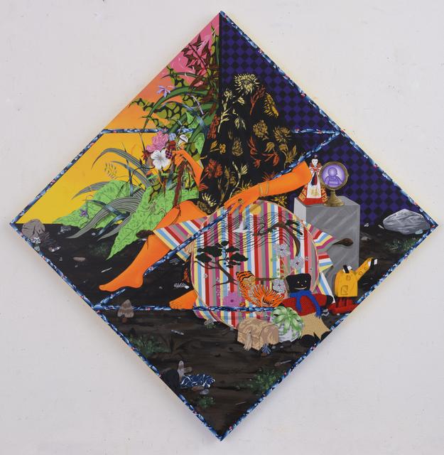 , 'Split Between Faraway Lands,' 2017, Shulamit Nazarian