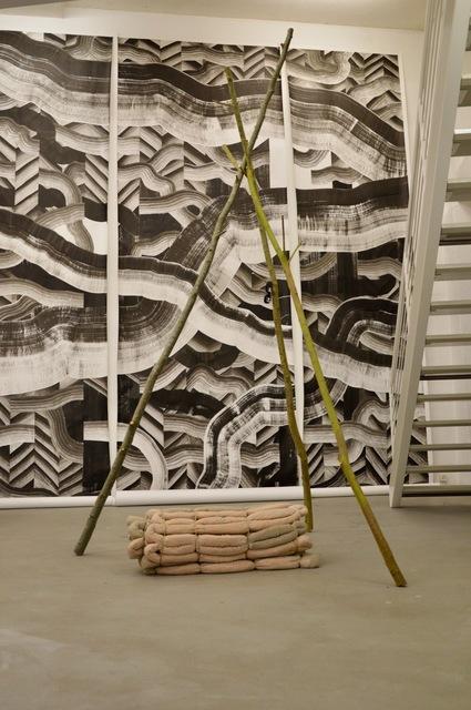 , 'Arven wooden Carpet,' 2017, Muster-Meier Contemporary Fine Art & Projects