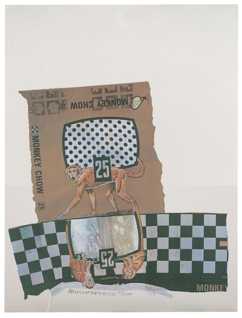 Robert Rauschenberg, 'Monkey Chow (Chow Bags)', 1977, San Francisco Museum of Modern Art (SFMOMA)