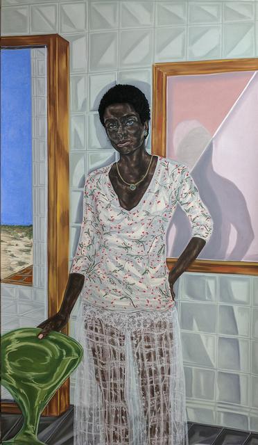 Toyin Ojih Odutola, 'Pregnant', 2017, Jack Shainman Gallery