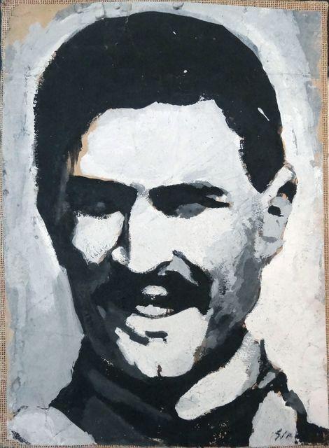 , 'Self-portrait in military uniform,' 1915-1918, Brun Fine Art