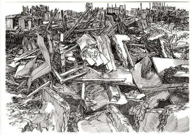 , 'Composition 20,' 2016, Galerija VARTAI