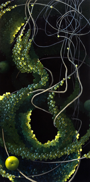 , 'Still Life with Pear and Grape,' 2008, Sloan Fine Art