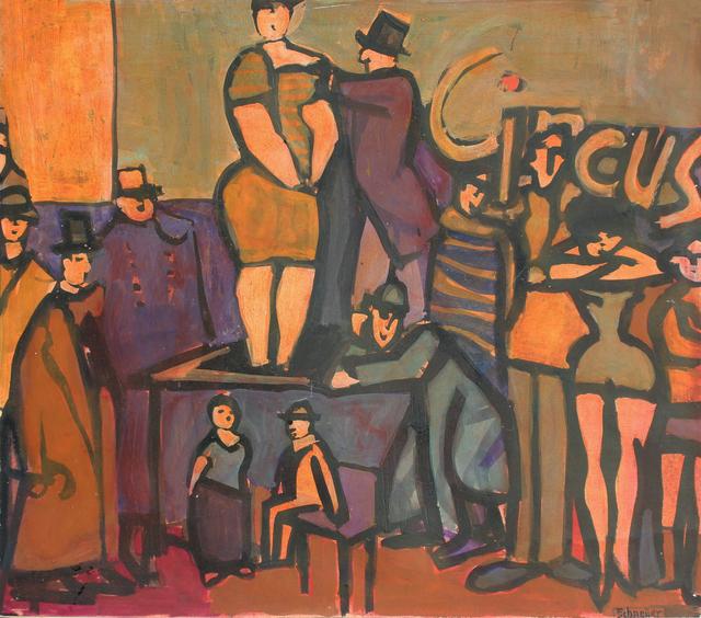 , 'Circus,' ca. 1975, HOHMANN