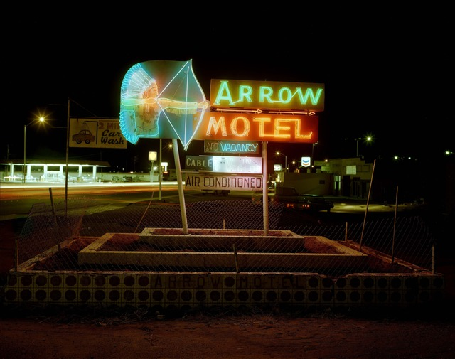 , 'Arrow Motel, Highway 85, Espanola, New Mexico, March 23,' 1982, photo-eye Gallery