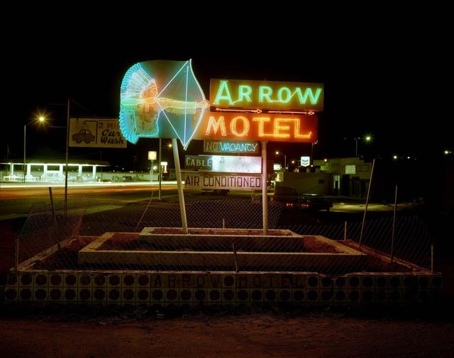, 'Arrow Motel, Highway 85, Espanola, New Mexico, March 23,' 1982, photo-eye Gallery