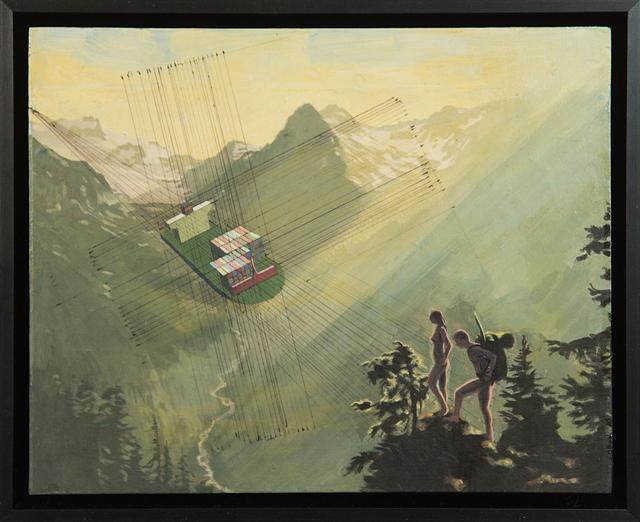 , 'Hikers ,' 2018, Treason Gallery