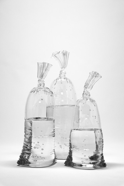 , 'Glass Water Bags - Trio,' 2018, Lyons Wier Gallery