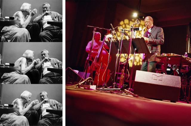 , 'Ornette Coleman. Chicago, December 2008 / Smoking and Talking, Tygmont Jazz Club, Warsaw. August 2009,' 2009, Michel Rein Paris/Brussels
