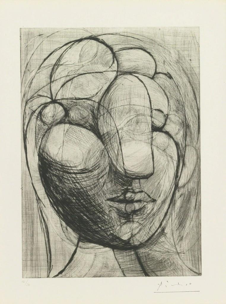 Sculpture, Head of Marie Thérèse