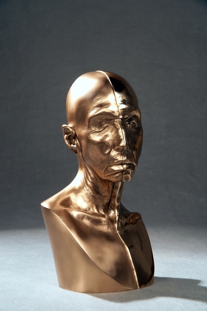, 'Bronze Toby Head,' 2009, Penn State: Judy Chicago Art Education Collection
