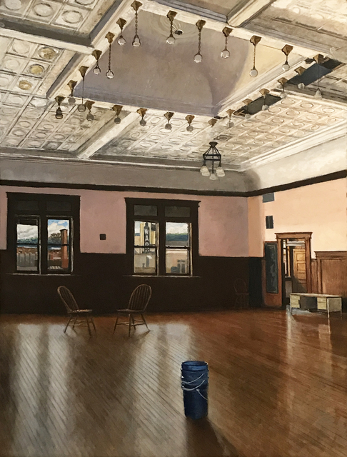 , 'Oddfellows Ballroom,' 2017, Eckert Fine Art
