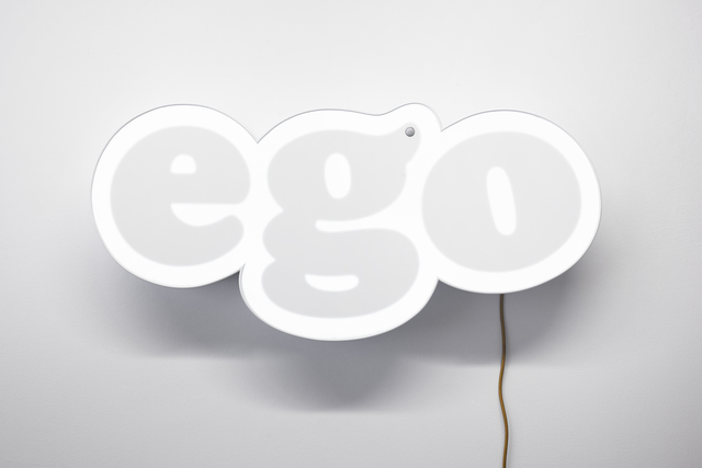, 'Untitled (ego),' 2012, Lange + Pult
