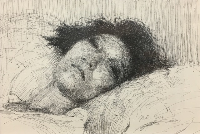Seongjin Kim, 'Hong (Portrait of a Young Woman)', 2014, Robert Kananaj Gallery